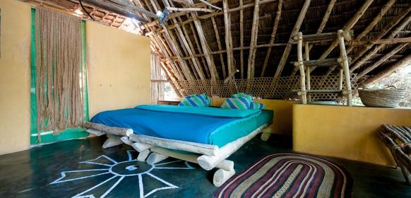 Chumbe Island Lodge säng