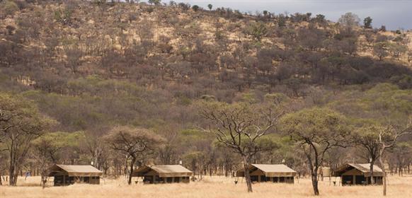 kati Kati tented Camp i Serengeti