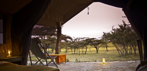 Safarilodger i Masai Mara
