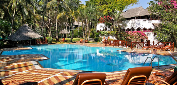 Pool at Mombasa Serena