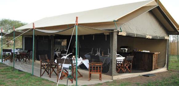 Mässtält Tanzania Bush Camp