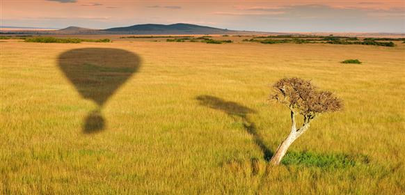 Masai Mara ballong