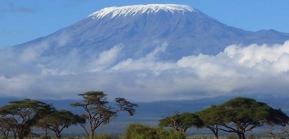 Kilimanjaro från Moshi