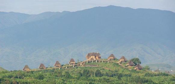 Magiska vyer i Uganda